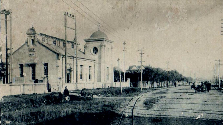 舊龜山電廠:1905年龜山整體廠房工程正式完工
