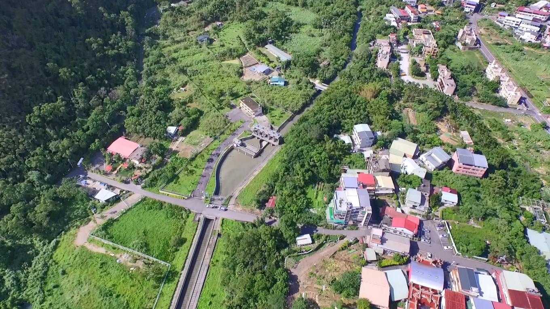 小粗坑電廠:小粗坑引水道明渠