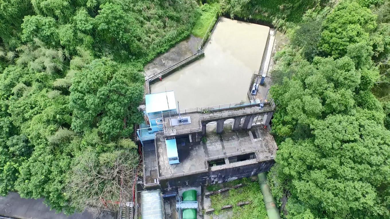 小粗坑電廠前池