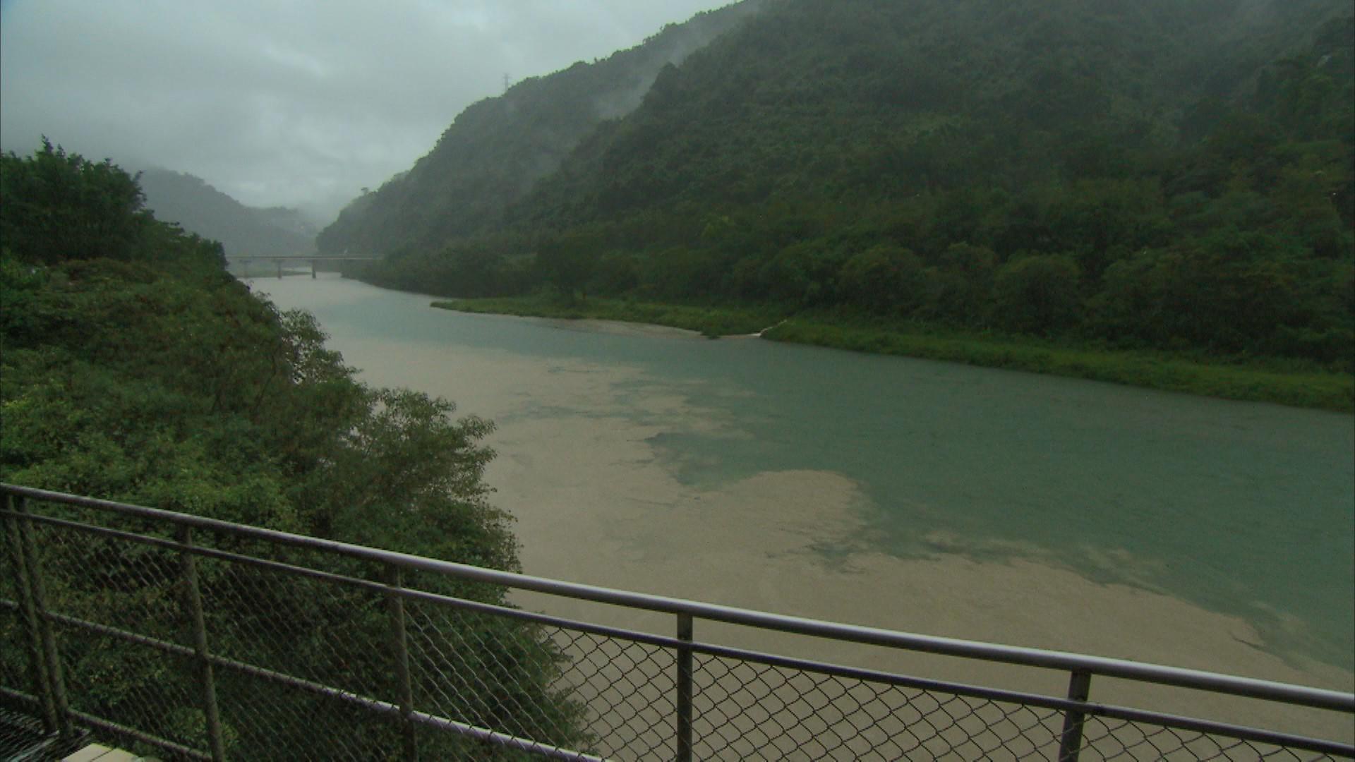 桂山電廠旁的北勢溪