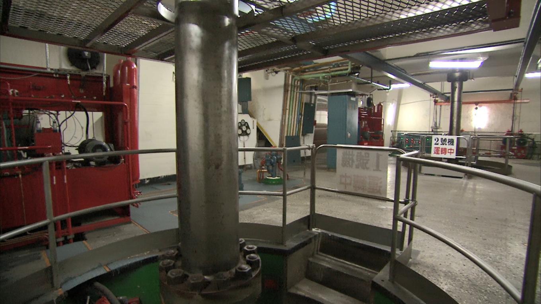 桂山電廠內部