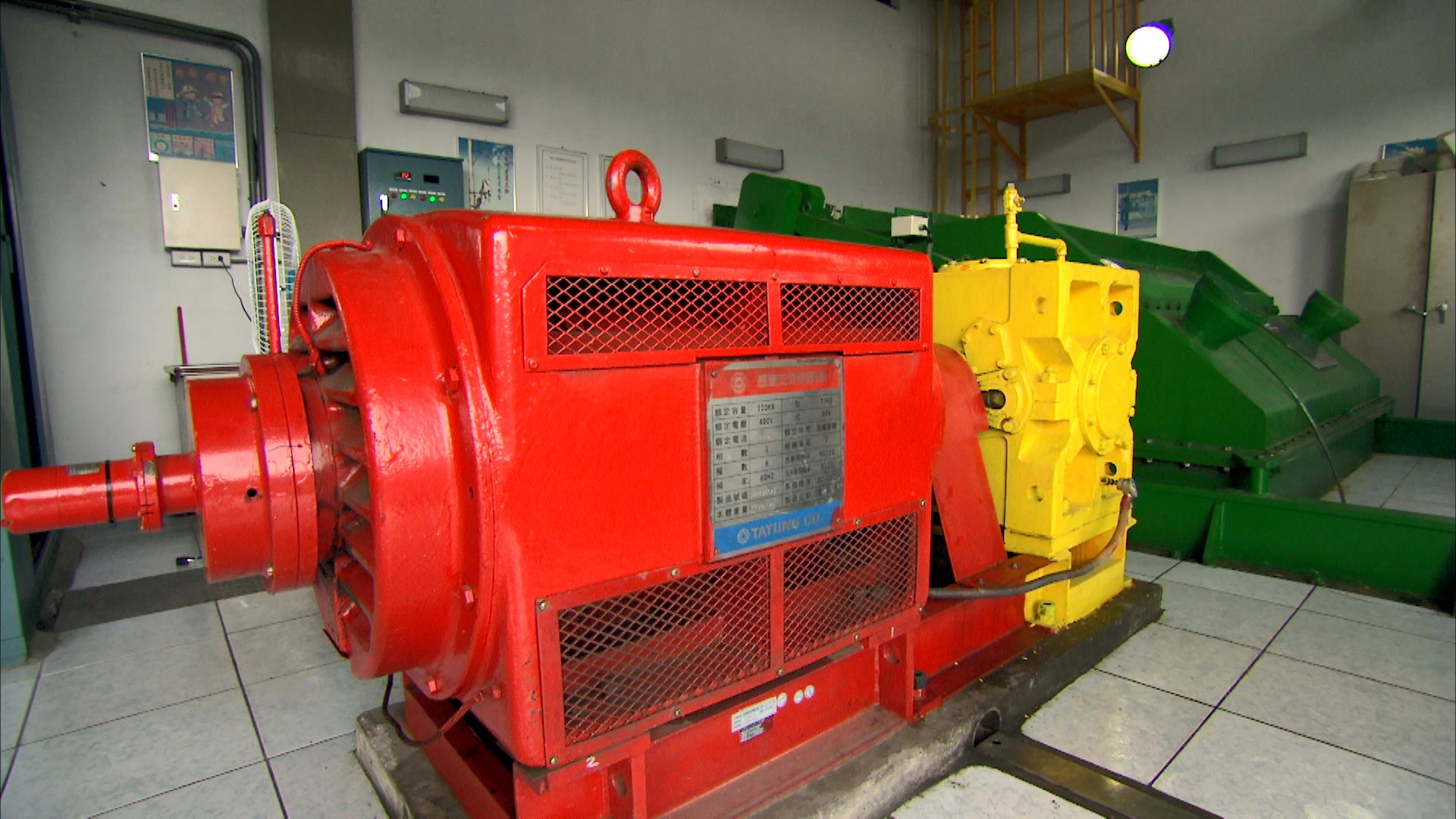 軟橋電廠發電機組