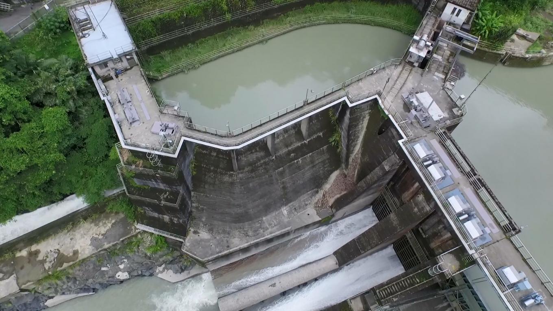 新店溪烏來電廠水源之一的羅好壩