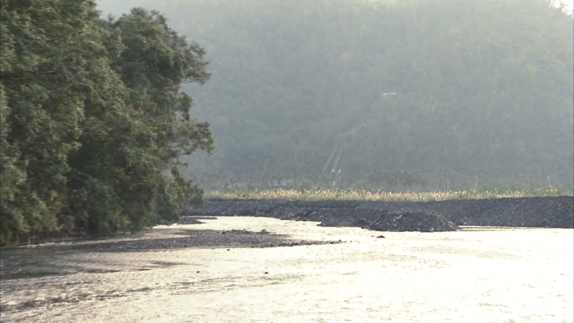 天埤電廠進水口導水路與圓山電廠