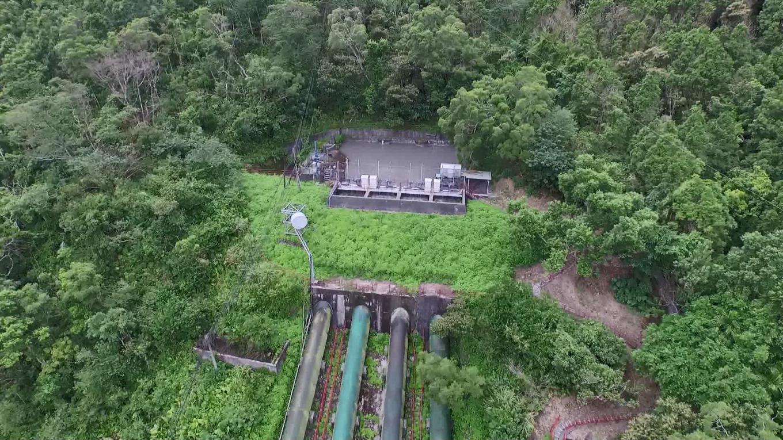 蘭陽發電廠前池