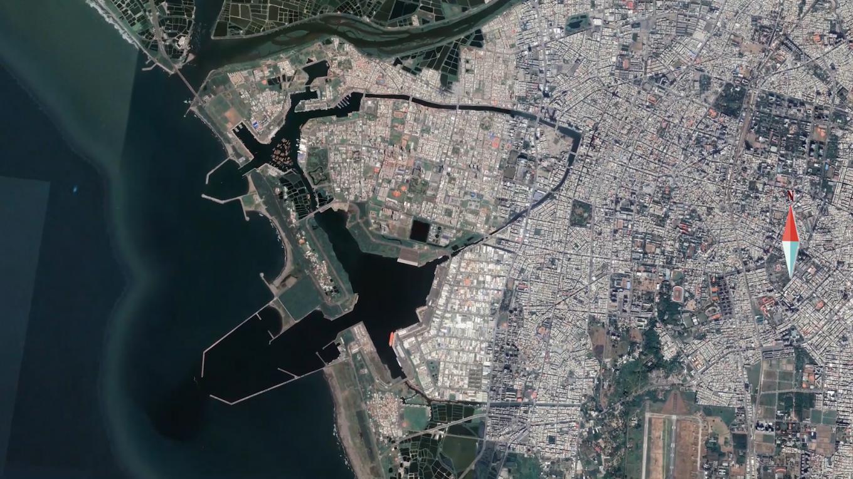 台南運河、安平漁港、安平港現況