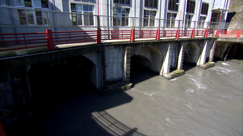 天埤電廠尾水出水口
