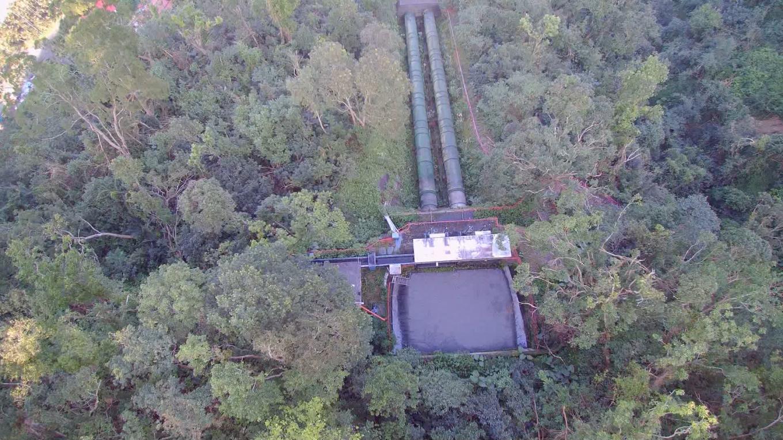 圓山電廠前池