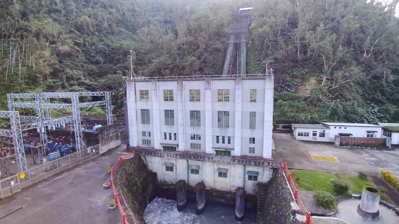 圓山電廠尾水出口
