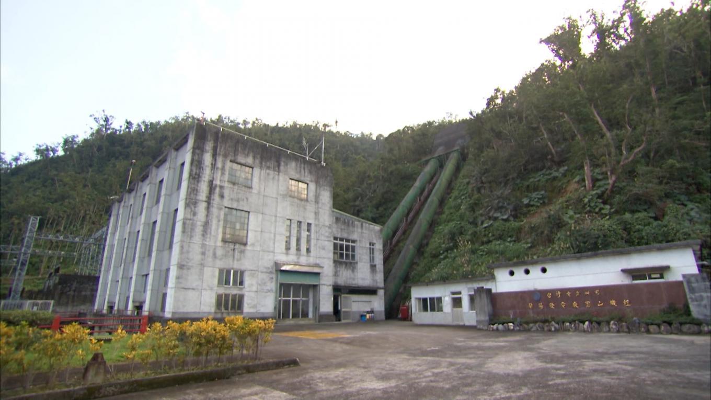 圓山電廠廠區一景