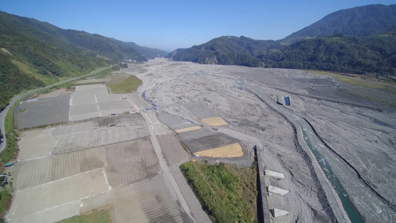 天埤與圓山電廠水源蘭陽溪流域