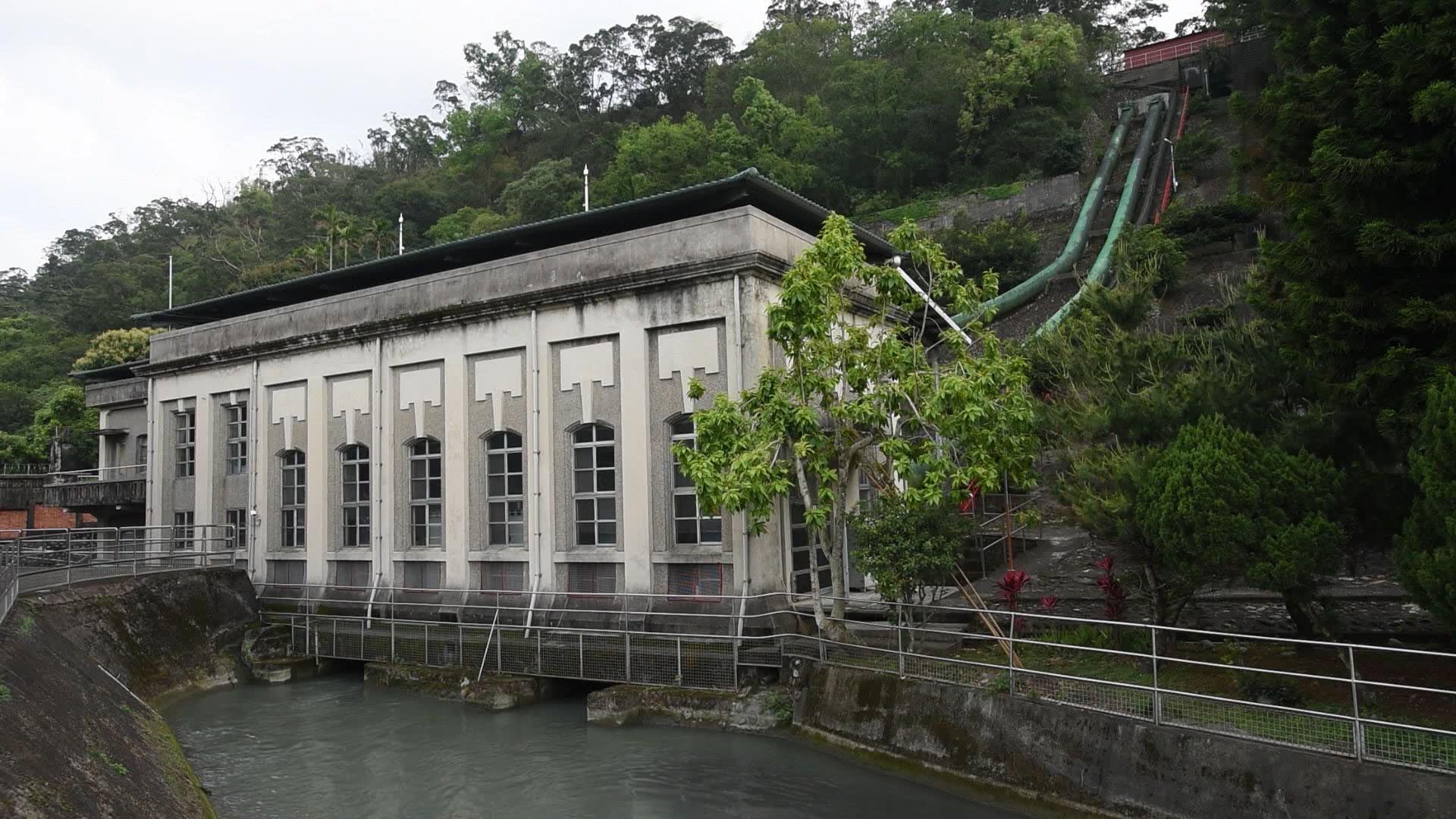 大安溪后里電廠尾水出口