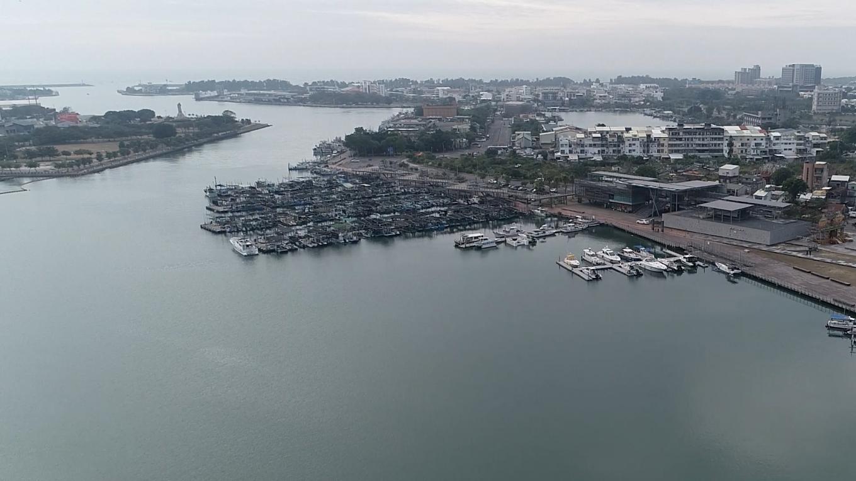 連結台南運河的安平港(今安平漁港) 1935至1936年
