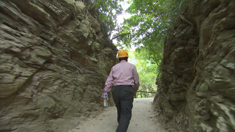 立霧電廠早期開發建廠時建造的砂卡礑步道