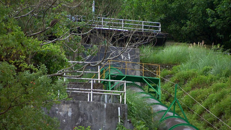 壽豐溪流域溪口電廠壓力鋼管