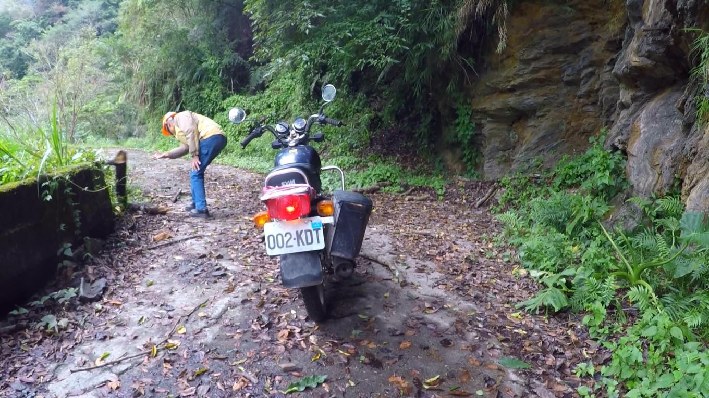 和平溪流域台電人員上班的路(通往木瓜壩)