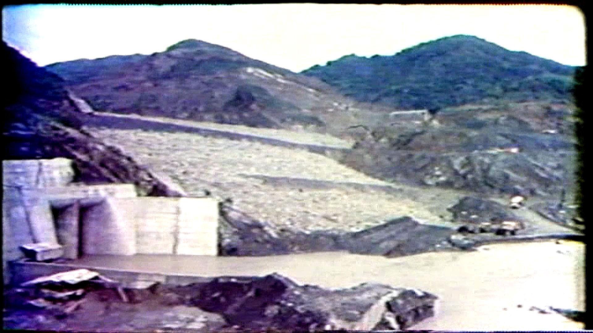 榮工處承建曾文水庫工程之擋水壩完工