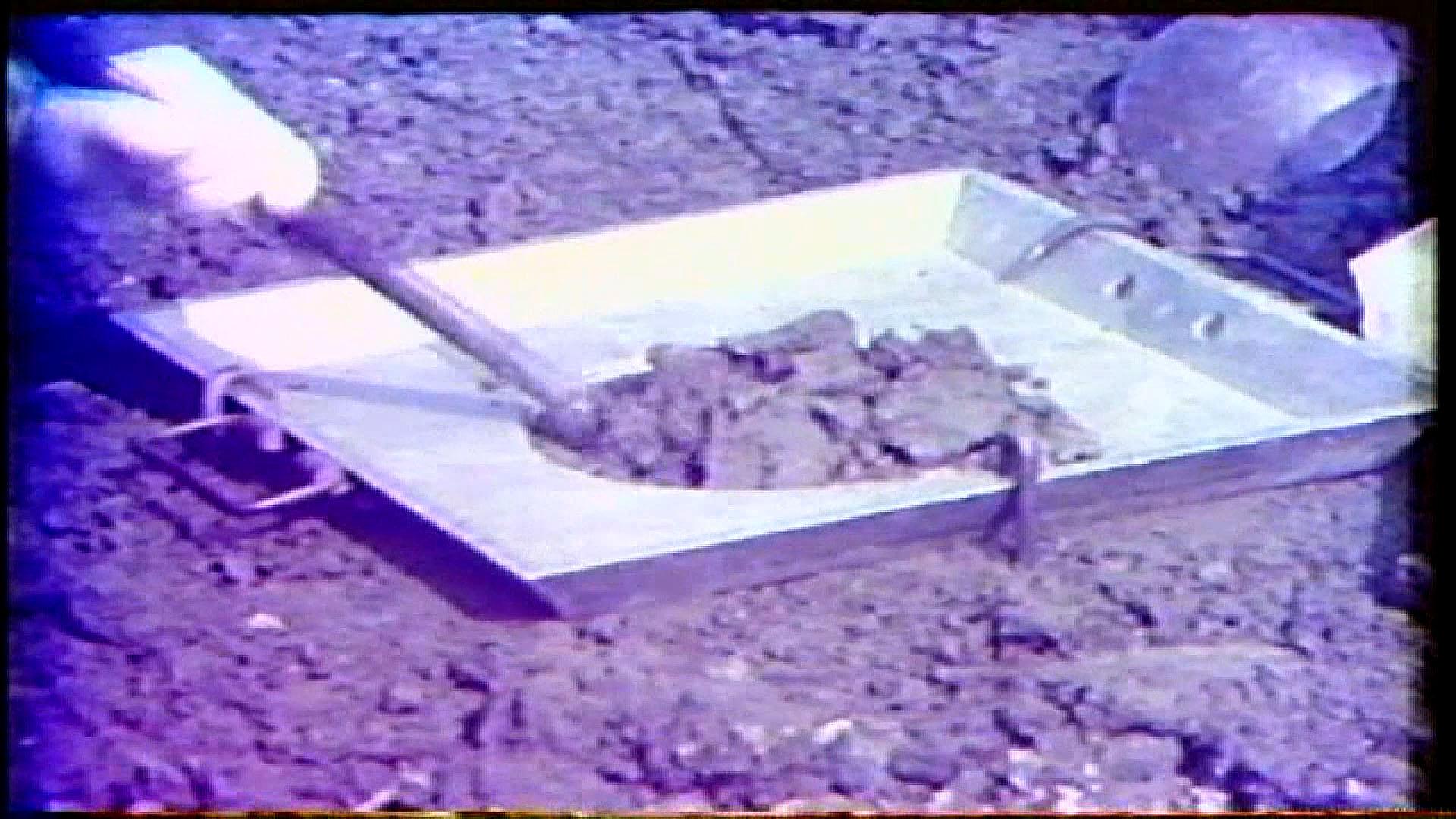 榮工處承建曾文水庫之大壩填築密度測試