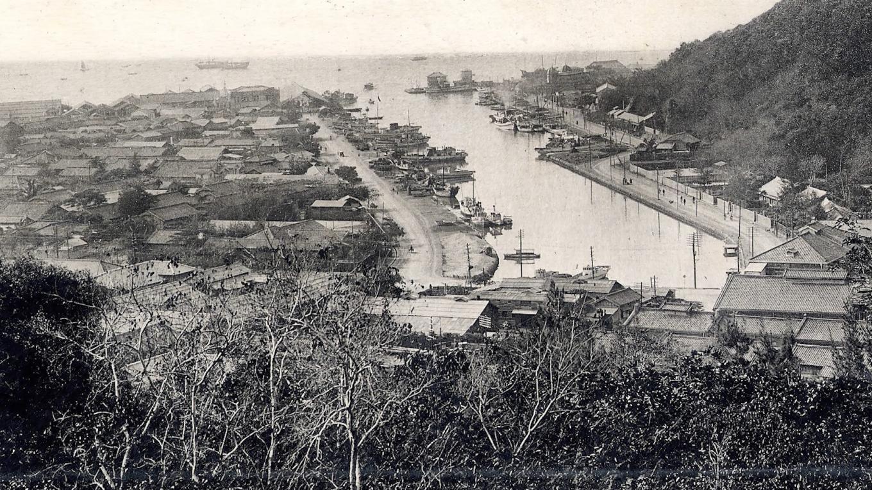 高雄港:哨船頭漁港 打狗港第二期築港工程中一併整修的哨船頭漁港
