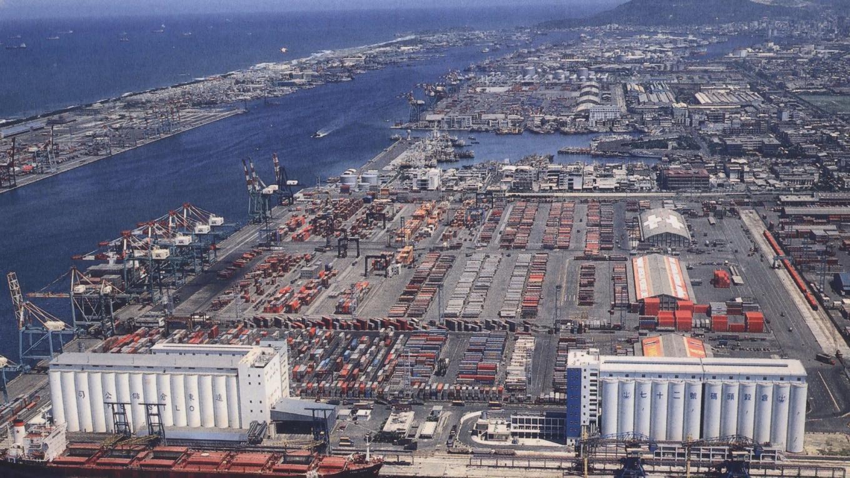 高雄港12年擴建計畫(1958-1970年)全景