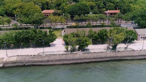 清領時期淡水海關碼頭,1865年-1905年為淡水港黃金時期在台湾近代史上一直扮演著重要地位