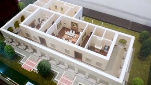 淡水港:西洋稅務官宿舍-小白宮(模型)