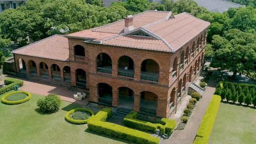 淡水港:領事官邸  英國人1877年建造  日本人1899年改建
