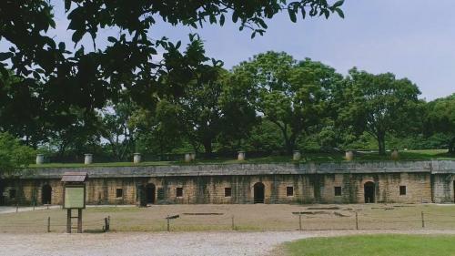 淡水港:滬尾(舊淡水)砲台(1886年)遺跡