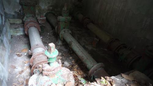 淡水港:從滬尾水處理廠沿線埋設近7000公尺之輸水管線