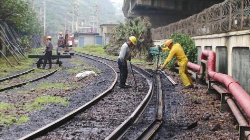 林口電廠運煤的桃林鐵路支線修整