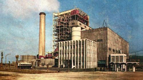 林口電廠舊林一機:林口火力電廠的第一部機組,於1968 年 7 月7 日完成併聯,加入系統供電。