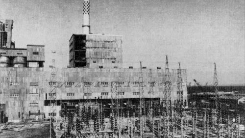 林口電廠舊林二機廠房與開關場