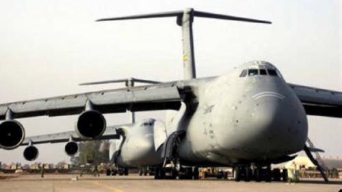 林口舊林二機裝設工程期間,除海運要搭建臨時碼頭搶灘上岸外,空運的部分,還需洽商美國軍方,以當時最大的 C-5A 運輸軍機支援才得以承運。