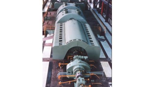 林口電廠舊林二機:是當時全國最大之發電機組,為全燒油設計,無法用煤當作燃料。