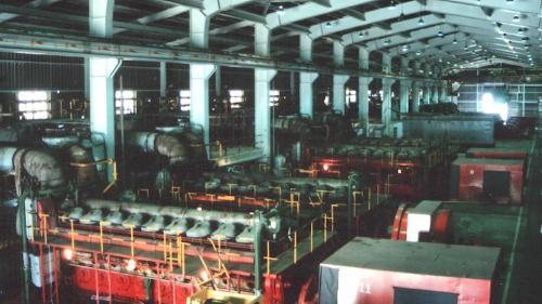 林口電廠13部柴油發電機:每部柴油發電機的裝置容量達6000瓩