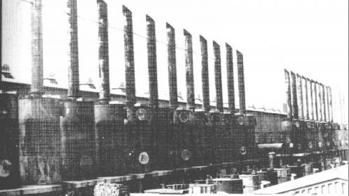 林口電廠柴油發電機之消音器及煙囪