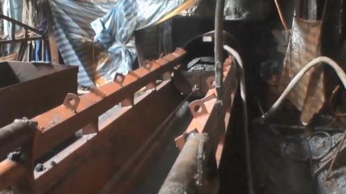 林口電廠輸煤廊道使用的管幕工法施工