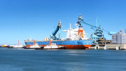 林口電廠卸煤碼頭