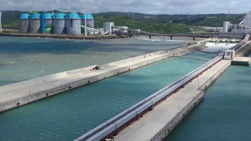 林口電廠輸煤海堤
