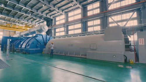 林口電廠的超超臨界燃煤機組
