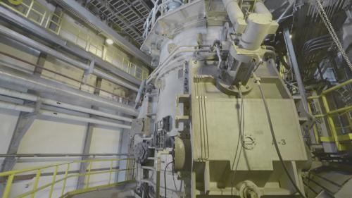 林口電廠之微藻光合反應除碳模組廠內部