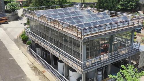 林口電廠之微藻光合反應除碳模組廠