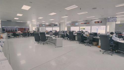 林口電廠新機組全電腦化控制室
