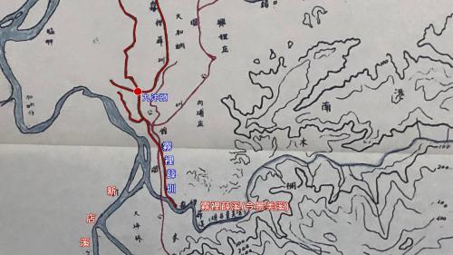 霧裡薛圳 修建較瑠公圳為早主要灌溉台北市西側,因水源來自霧裡薛溪(今名 景美溪)而得名
