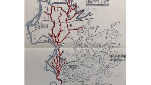 瑠公圳:台北市瑠公農田水利會 1956年再合併大坪林圳,並更名為台北市瑠公農田水利會