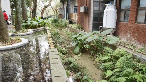 現今瑠公圳在台北保留較完整的圳路之一