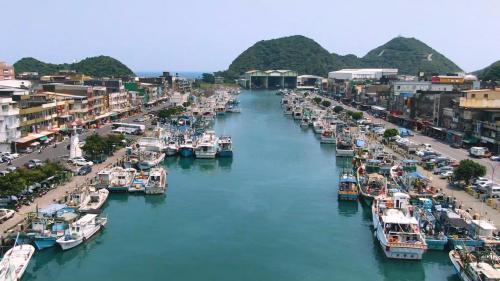蘇澳港:南方第二漁港鳥瞰