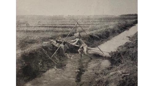 鳥山頭水庫:早期嘉南平原灌溉用的『籠式給水器具』