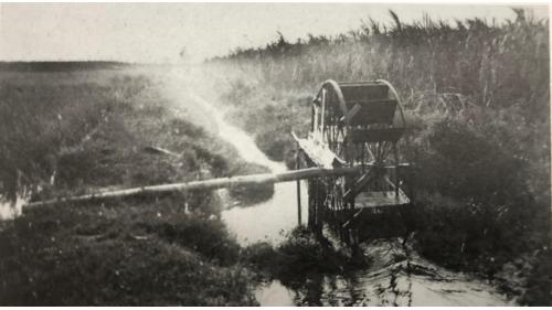鳥山頭水庫:早期嘉南平原灌溉用的『在來水車』