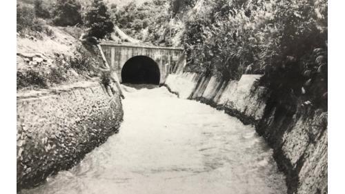 鳥山頭水庫:烏山嶺隧道出口